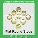 Metal Bag Studs-Flat Round Shape