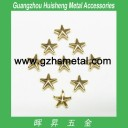 Metal Studs-Star Shape-Gold Color