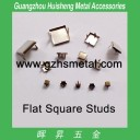 Metal Studs - Flat Square Shape