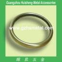 2 Inch Brushed Anti Brass Metal Round Rings