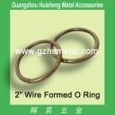 Brushed Anti Brass Metal Round Rings 38mm