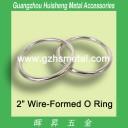 Metal O Rings Non Welded Nickel 38mm