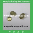 Magnetic Snap-Rivet Type