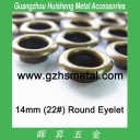 14mm Metal Round Eyelet Leather Grommet