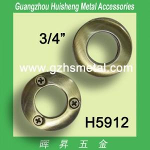 H5912 Metal Flat Round Eyelet 20mm