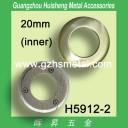 H5912-2 Metal Flat Round Eyelet 20mm