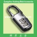 H0917 Luggage Lock Gunmetal Color