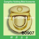 B0907 Metal Insert HandBag Lock