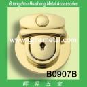 B0907B Metal Insert HandBag Lock