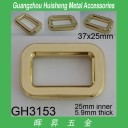 GH3153 Rectangle Buckle 25mm