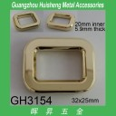 GH3154 Rectangle Buckle 20mm