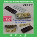 GH2987 Metal Letter Studs for Leather Goods